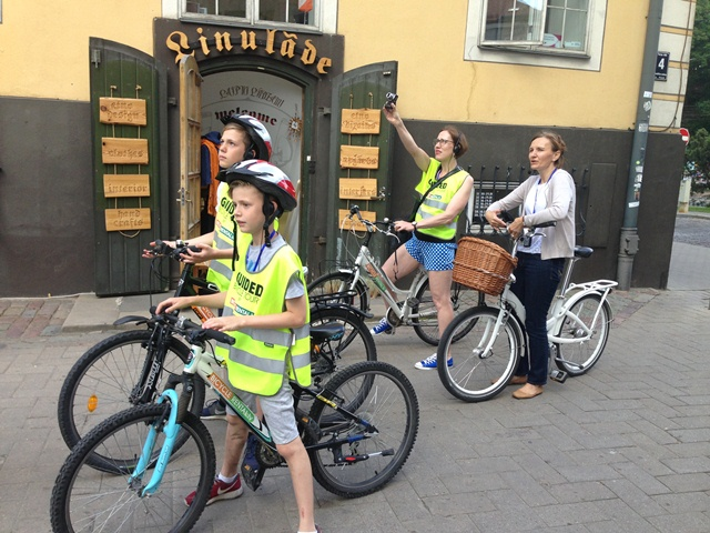 Guided bike tours riga Laila