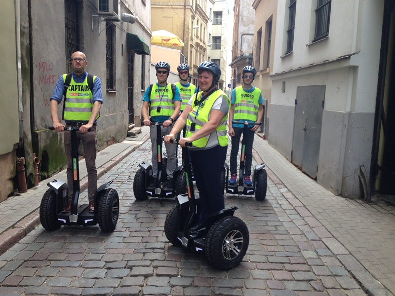 Guided segway tours riga Mihails
